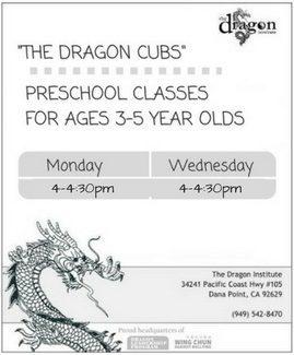 Preschool Kung Fu - Martial Arts