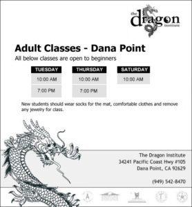 Dana Point Martial Arts Classes - Adults Wing Chun