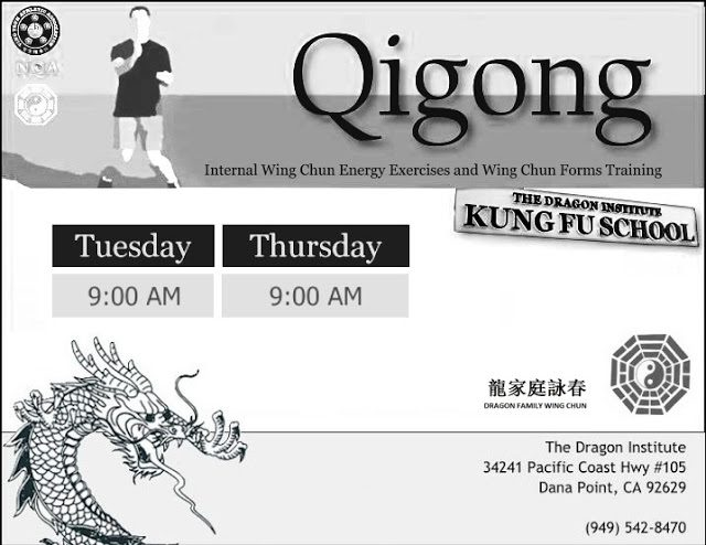 Qigong Classes - Dana Point and San Clemente