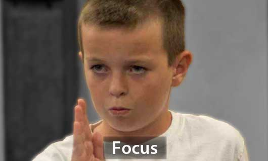 Focus in Kids: Martial Arts