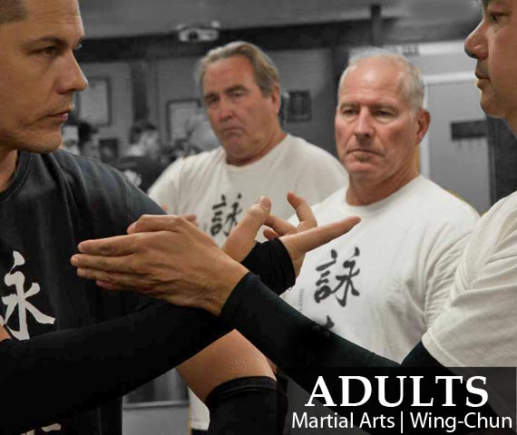 ADULTS Martial Arts | Wing Chun