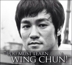 Wing Chun quote - Bruce Lee