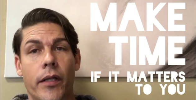 Make Time - If It Matters - Adam Williss