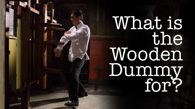 What is the wooden dummy for
